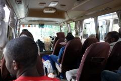 I Dalla-Dallan i väntan på avgång mot Fumba, Zanzibar Town, Unguja.