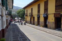 Gatuscen i centrala San Gil.