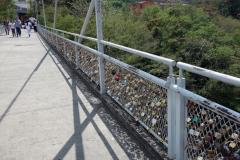 Puente de los candados del amor Eterno, San Gil.
