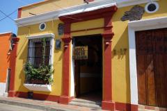 Hotel Nueva Granada, mitt boende i Santa Marta.