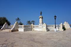 Parque Camellón Rodrigo de Bastidas, Santa Marta.