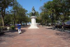 Parque Bolívar, Santa Marta.