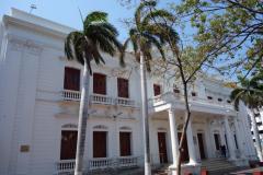 Palacio de Justicia, Parque de Los Novios, Santa Marta.