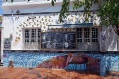 Gatuscen i centrala Santa Marta.