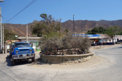 Gatuscen i Taganga.