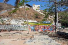 Graffiti i Taganga.