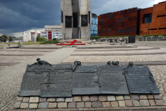 Monument to the Fallen Shipyard Workers of 1970, Solidaritetstorget, Gdańsk.