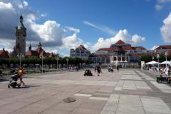 Skwer Kuracyjny, Sopot.