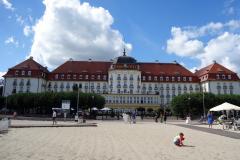 Grand Hotel, Sopot Beach, Sopot.