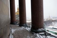Kolonnaden, St. Isaac's Cathedral, Sankt Petersburg.
