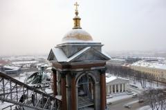 Utsikten från kolonnaden, St. Isaac's Cathedral, Sankt Petersburg.