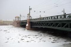 Palatsbron, Sankt Petersburg.