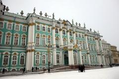 Del av Vinterpalatset, Sankt Petersburg.