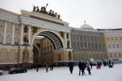 Generalstabsbyggnaden, Sankt Petersburg.