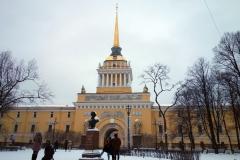 Amiralitetets torn, Sankt Petersburg.