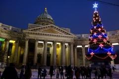 Kazankatedralen, Sankt Petersburg.