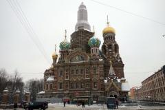 Uppståndelsekyrkan, Sankt Petersburg.
