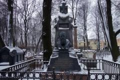 Fyodor Dostoevsky, Necropolis of Art Masters, Sankt Petersburg.