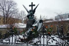 Pyotr Tchaikovsky, Necropolis of Art Masters, Sankt Petersburg.