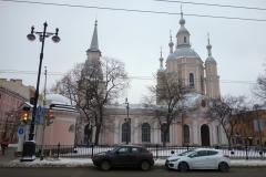 Andreyevsky Cathedral, Vasilyevsky island, Sankt Petersburg.