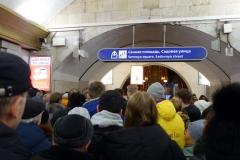 Sadovaya metrostation, Sankt Petersburg.