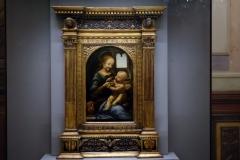 Bénois-Madonnan (Leonardo da Vinci), Eremitaget, Sankt Petersburg.
