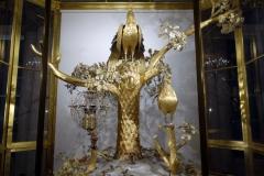 Påfågelklockan från 1772, Eremitaget, Sankt Petersburg.