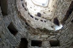 Del av Ananuri-fortet.