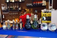 Café Julius Meinl vid bergbanans nedre station, Tbilisi.