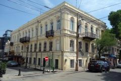 Arkitekturen i gamla Tbilisi.