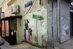 Graffiti i gamla Tbilisi.