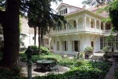 The Writers' House, Tbilisi. Ett av de allra charmigaste husen i staden.