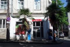 Spar-butik nära mitt boende, Tbilisi.