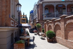 Mysiga restauranger, Ioane Shavteli St, Tbilisi.