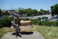 Ronald Reagan, Rike Park, Tbilisi.