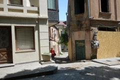 Liten gränd från gatan Erekle II, Tbilisi.