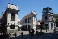 Vacker och intressant arkitektur, Sioni Street, Tbilisi.