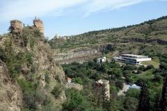 Narikala Fortress., Tbilisi.