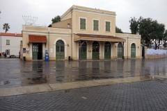 Gamla tågstationen i Neve Tzedek. Tel Avivs äldsta stadsdel.
