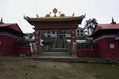 Klostret i Tengboche.