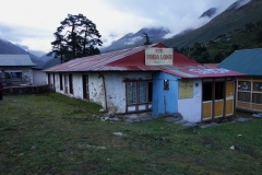 The Gomba Lodge, Mitt boende i Tengboche.