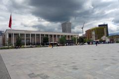 Skanderbeg Square, Tirana.