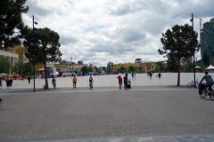 "Det ""nya"" Skanderbeg Square, Tirana."