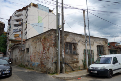 Lite fattigare del av centrala Tirana.