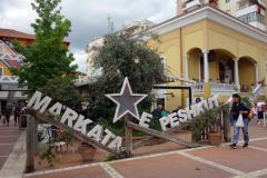 Centrala marknaden i Tirana.