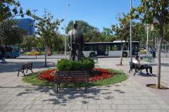 Statyn av Sheshi Sulejman Pasha, Tirana.