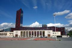 Pallati i Kongreseve, Mother Teresa Square, Tirana.