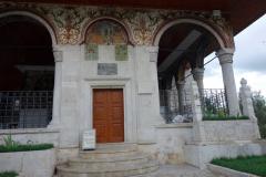 Et'hem Bej Mosque vid Skanderbeg square, Tirana.