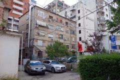Bostäder i centrala Tirana.