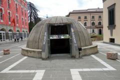 Entrén till museum Bunk'Art 2, Tirana.